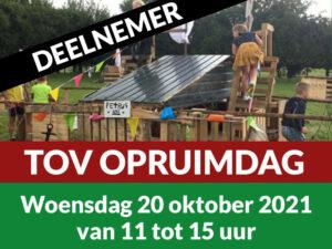 Deelnemer TOV Opruimdag 20 Oktober 2021