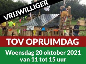Vrijwilliger TOV Opruimdag 20 Oktober 2021